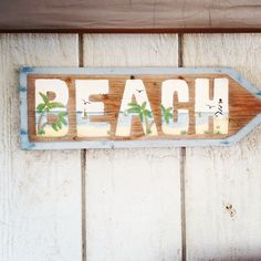 ★ As the sign says, I'm definitely headin' to the beach...  ░»───⊱