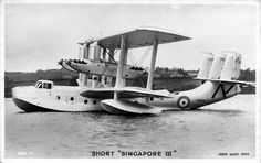 Short Singapore III Flying Boat