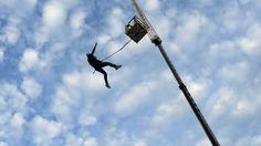 Head Rush Tech Jump Free Fall Attraction POV IAAPA 2014 XTREME Thrills!