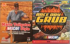 📚 Of all the odd little subtopics in my personal collection, #NASCAR-themed cookbooks are a favorite 😋 It might make for an interesting series of articles to review the recipes. Someday. Mike Skinner, News Sites, Race Day, Nascar, Articles, Racing, Recipes, Collection, Auto Racing