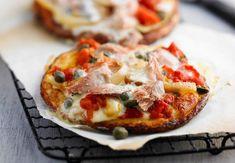 Recipes and Occasions Pizza Sans Levain, Mozzarella, Tuna Pizza, Pizza Legume, Flatbread Pizza, Pizza Party, Jambalaya, Weekly Menu, 20 Min
