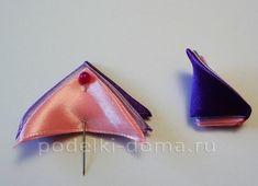 Красива рожево-бузкова шпилька зі стрічок, канзаші. Майстер-клас   podelki-doma.ru Sunglasses Case, Coin Purse, Wallet, Purses, Fashion, Pocket Wallet, Handbags, Moda, Diy Wallet