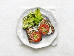 Grilled Eggplant and Smoked Mozzarella Melts | undefined