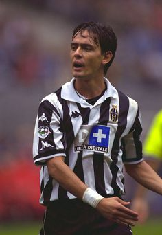 Pippo Inzaghi. Football Icon, Football Is Life, World Football, Football Soccer, Juventus Soccer, Juventus Fc, Soccer Guys, Football Players, Italian Soccer Team