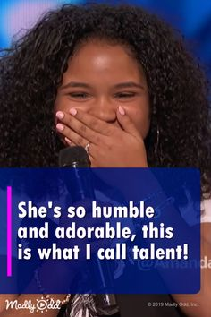 She has an amazing voice. She is definitely one of the best singers on America's Got Talent this season. Beautiful Voice, How To Feel Beautiful, Pop Music, Live Music, America's Got Talent Videos, Britain Got Talent, Entertainment Tonight, Aretha Franklin, Tears Of Joy