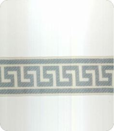 Athens Key Blue Wide Tape Trim