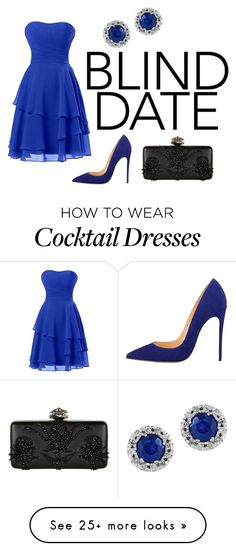 """blue"" by dryouknowho on Polyvore featuring Alexander McQueen and Effy Jewelry"