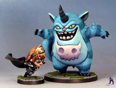 Odinsgrandson's Co-Op Project paintings - (SDE) Super Dungeon Explore's miniatures