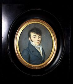 Louis Léopold Boilly, Rare portrait miniature
