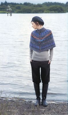 :: the fair isle cape ::