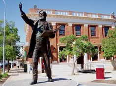 Statue of Sir Henry Parkes in Parkes, New South Wales
