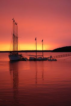 Margaret Todd at Sunrise - Bar Harbor, Maine----- the same one I went on with Lu Ann .. :) best vacation ever