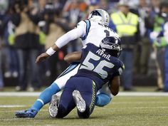 Cliff Avril and the stout Seahawks defense put constant