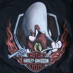 Harley Men's Yosemite Side Flame Dealer T-Shirt