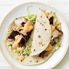 Baja Light Fish Tacos | MyRecipes.com
