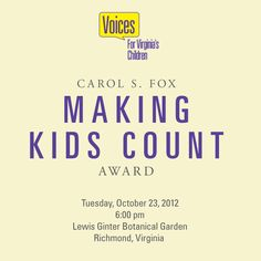 voices for virginias children is a statewide privately funded non partisan policy research