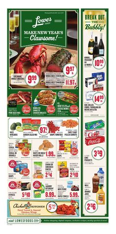 Lowes Weekly Ad December 28 - January 3, 2017 - http://www.olcatalog.com/grocery/lowes-weekly-ad-circular.html
