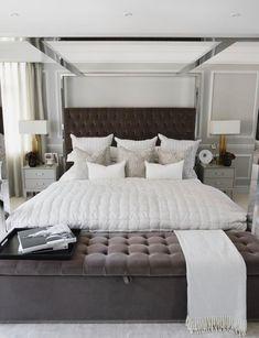 Lifestyle influencer Lydia Millen brings modern glamour to her country home Master Bedroom Interior, Home Decor Bedroom, Bedroom Furniture, Diy Home Decor, Bedroom Ideas, Cabin Furniture, Bedroom Inspiration, Dream Bedroom, Furniture Design