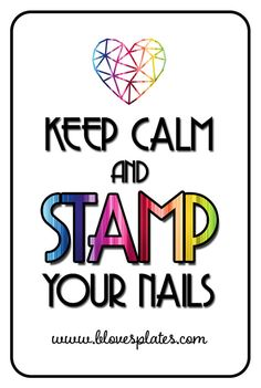 "One sided, plastic, transparent, super flexible stamping scraper with nice sentance 'Keep Calm and STAMP you nails""."