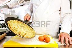 Chef hands detail with ingredient, restaurant kitchen on background Stock Photo - 20275711