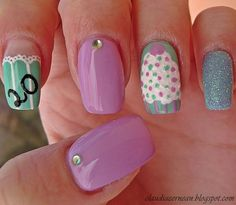 Carol Ri  Vodpod: Birthday Nails #Lockerz