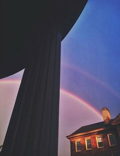 Rainbow over the old Well. Doesn't get much better than that. #UNCAlumni #TARgram alumni.unc.edu
