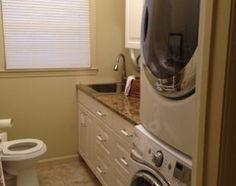 laundry powder room combo - Google Search
