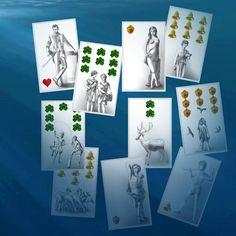 Aus der Tiefe des Orakelsees lassen sich einige Karten ausmachen. Sie erzählen von Dingen, die sinnvoll wären. Was ist für Dich jetzt sinnvoll?  Finde die Antwort auf dem Orakelsee: gratis Kartenlegen  #tarot #cardreading #kartenlegen #orakel #oracle Oracle, Playing Cards, Gallery Wall, Cartomancy, Runes, Legends, Playing Card Games, Game Cards, Playing Card