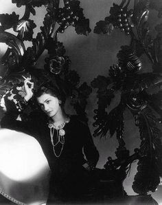 Coco Chanel by Horst P. Horst, 1934