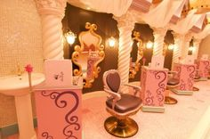 Disney Salon...cuz every little girl always dreamed of looking like a beautiful Princess!