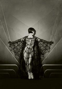 [Edited - this is a picture of Vicky Butterfly] There are eight million pictures of Louise Brooks on the Internet; presumably this is one of them. But there was no attribution, and I can't find any information about it, except for an endless fun-house mirror of Pinterest and Tumblr posts