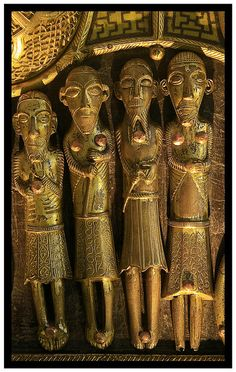 A detail from St. Manchan's Shrine, Boher, Ballycumber, Co. Offaly, Ireland   Flickr - Photo Sharing!