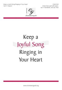 CGA1243 Keep a Joyful Song Ringing in Your Heart-general
