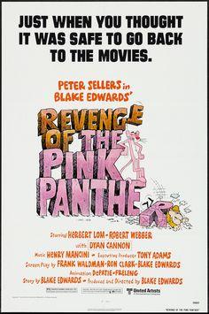 1978 - REVENGE OF THE PINK PANTHER - Blake Edwards