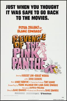 1978 - REVENGE OF THE PINK PANTHER - Blake Edwards