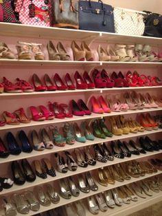 My DIY Shoe Closet | Life in the Barbie Dream House Blog