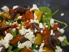 Roasted Sweet Potato Salad with Fetta @ http://allrecipes.com.au