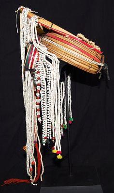 Burmese Akha headdress on stand. One left in our collection Burmese, Headdress, Dream Catcher, Collection, Decor, Decorating, Headpiece, Dreamcatchers, Inredning