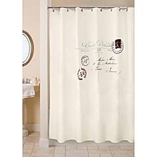 image of Park B. Smith Postale 72-Inch x 72-Inch Shower Curtain