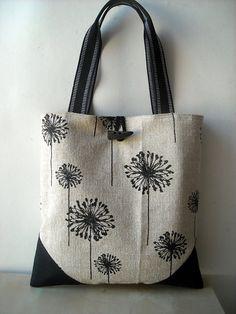 Tote Bag - Dandelion Tote by VIDA VIDA cDtH51m3op