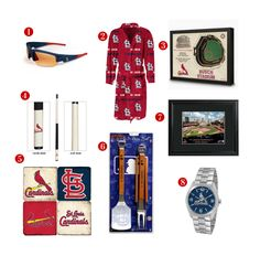8 Great Father's Day Gift ideas for the avid St. Louis Cardinals Fan! See all of our Cardinals gifts at http://www.topnotchgiftshop.com/st-louis-cardinals.html