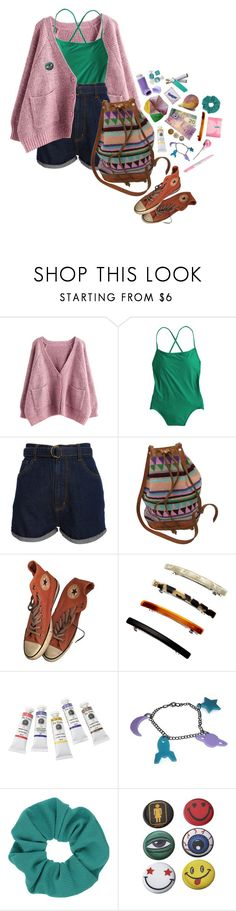 """""""#429"""" by sappyholygirl ❤ liked on Polyvore featuring J.Crew, Cheap Monday, Retrò, Converse, Accessorize, La Bella Figura, Hard Candy and Topshop"""