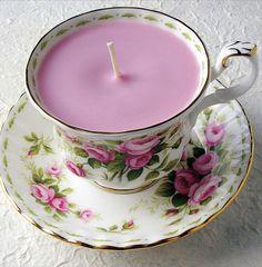 Candle tea cups