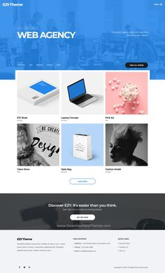 EZY is a clean, elegant and modern design responsive premium multipurpose WordPress theme for corporate, business consulting, agency, architecture, construction, gym, fitness, medical, restaurant, portfolio showcase and eCommerce shop beautiful website with 40+ niche homepage layouts. EZY was created to make your life easier, it comes with very powerful theme options and amazing features to download now & live preview click on image 👆