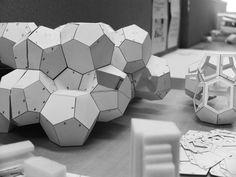 Kobe University School of Architecture.  Someone's next project. Geodesic modular structure.