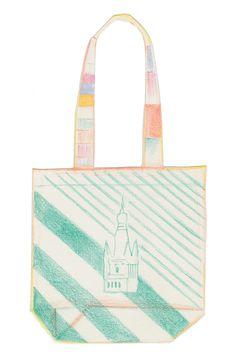 bag Pastel Colors, Tote Bag, Illustration, Artwork, Bags, Handbags, Pastel Colours, Work Of Art, Auguste Rodin Artwork