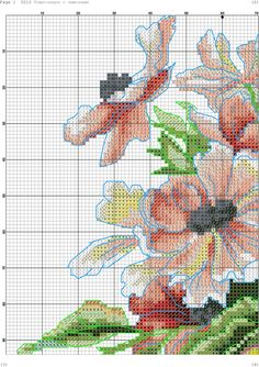 k 3 Cross Stitch Fruit, Cross Stitch Kitchen, Cross Stitch Bird, Cross Stitch Flowers, Cross Stitch Embroidery, Cross Stitch Patterns, Banner, Crafts, Art