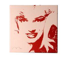 Red and White Marilyn Lekkert maleri av Marilyn Monroe. Nova, Marilyn Monroe, Red And White, Flag, Art, Pictures, Art Background, Kunst, Science