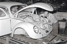 Wolfsburg 1953 #vw_vintage_morat Volkswagen