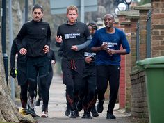 Prince Harry Getting Fit for Homeless Kids (PHOTOS)